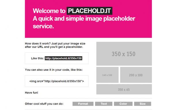 これだけあればOK! WEB制作で必須の簡単なURLを入れるだけでダミー画像が作れるWebサービス3選
